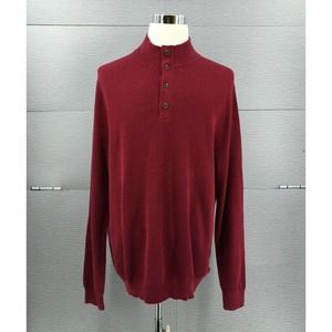 Brooks Brothers Men's Sweater Size XL Red NWT